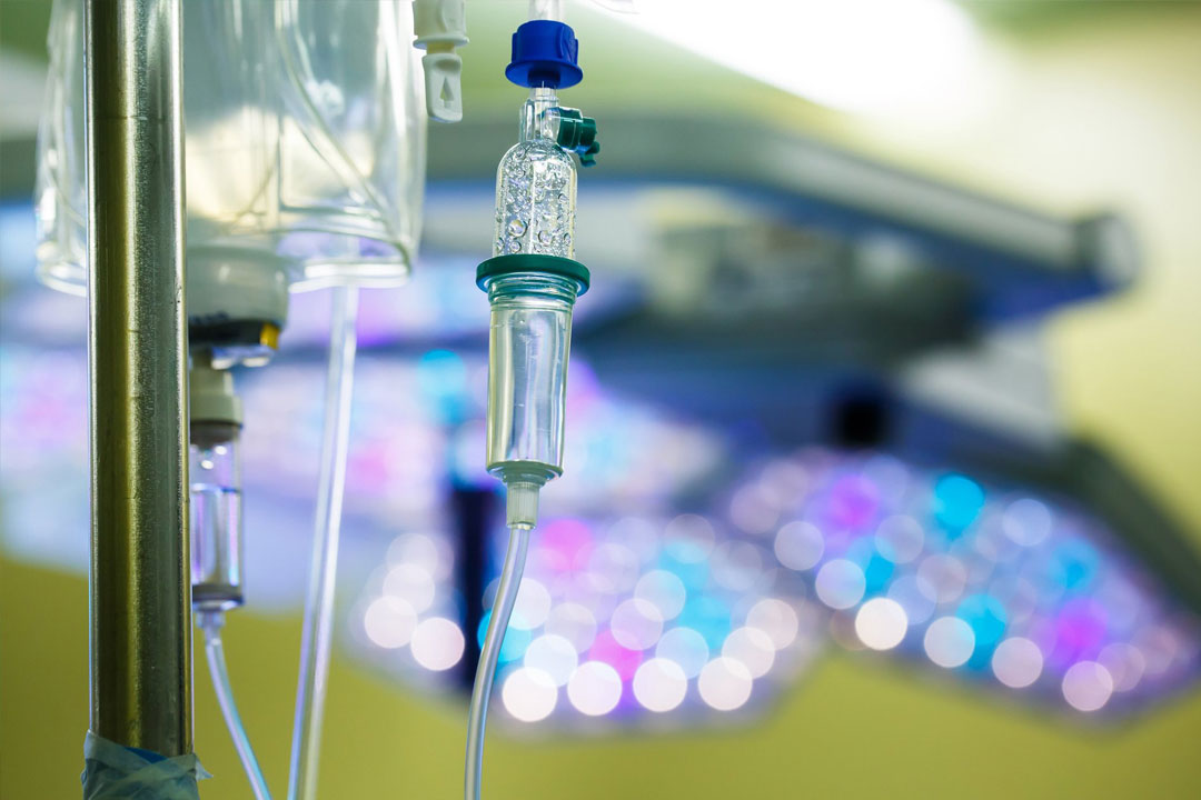 Intravenous nutritional therapy treatment
