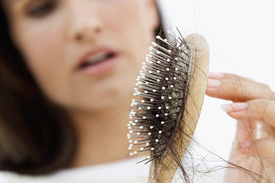 PRP hair loss therapy in Weston